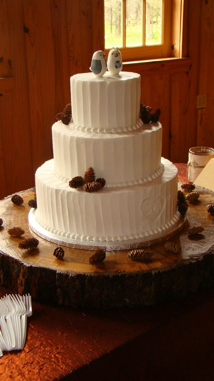 shabby chic bridal shower cakes%0A We make  wedding cakes for lovebirds of all shapes and sizes