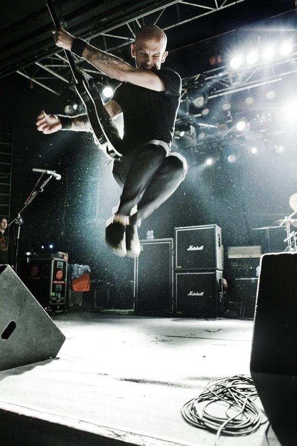 Jump.  Rise Against