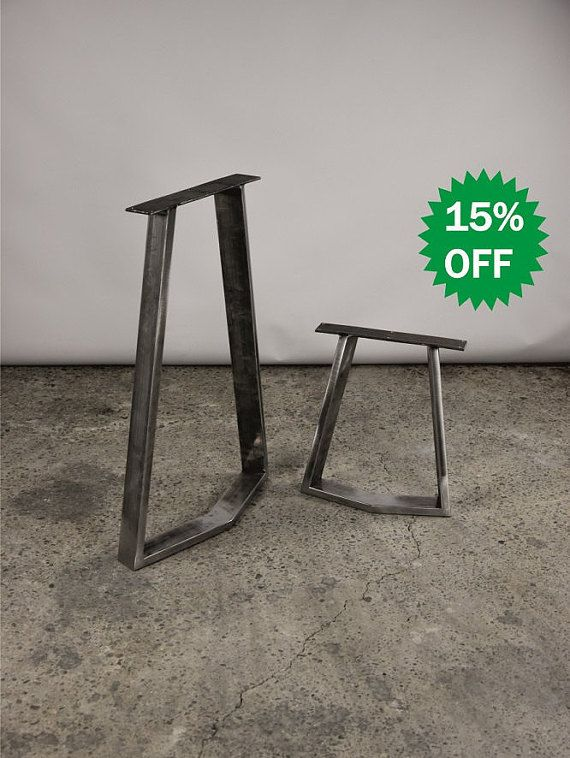 15OFF Yako 6020 Bench Legs Table SET2 Dining By MetaLovePL