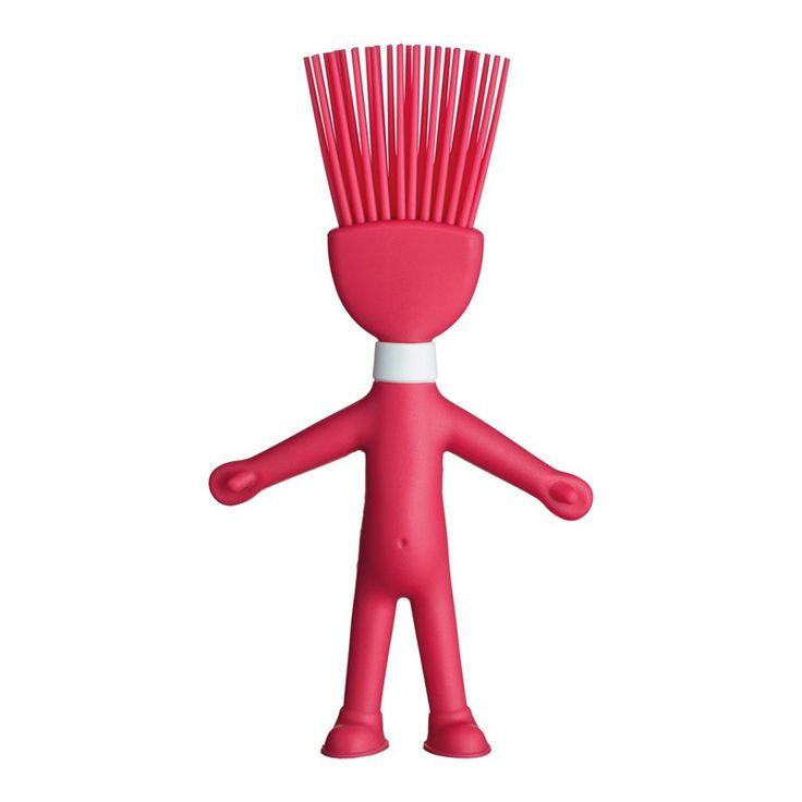 Πινέλο Spike, της σειράς Kizmos headchefs, από την Kitchen Craft. Το κεφάλι του Spike σας επιτρέπει να απλώνετε ομοιόμορφα το βούτυρο, το γάλα και τα έλαια. Ο βοηθός στην κουζίνα σας