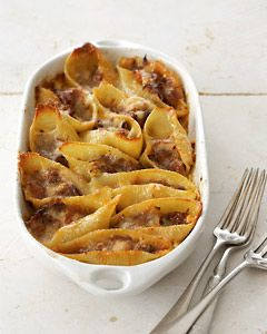 Recipes from The Nest - Stuffed Shells With Bolognese Sauce