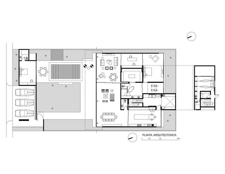 Ancha House,Lower Plan