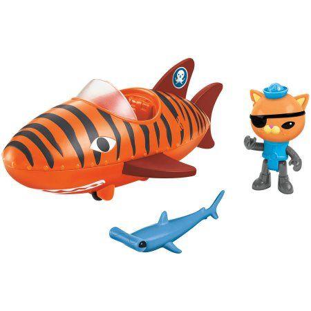Fisher-Price Octonauts Talking Tiger Shark Gup-B, Orange