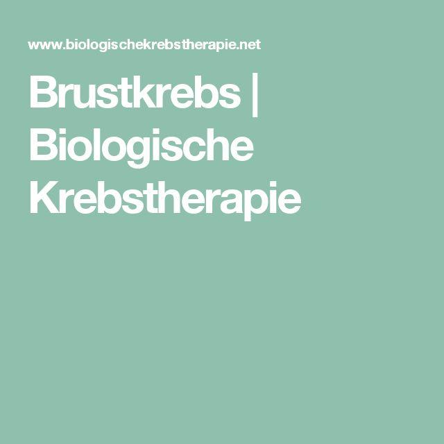 Brustkrebs   Biologische Krebstherapie