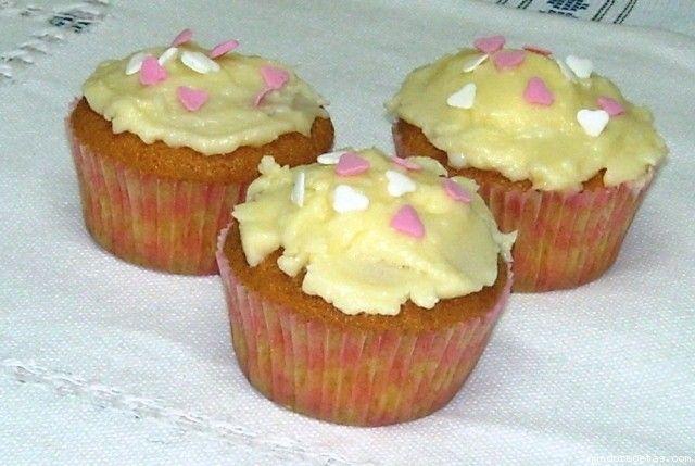 Cupcakes de San Valentin (paso a paso)