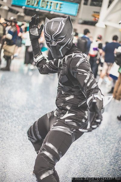 Black Panther #MARVEL #cosplay | LA Comic Con 2016, Photo by DTJAAAAM