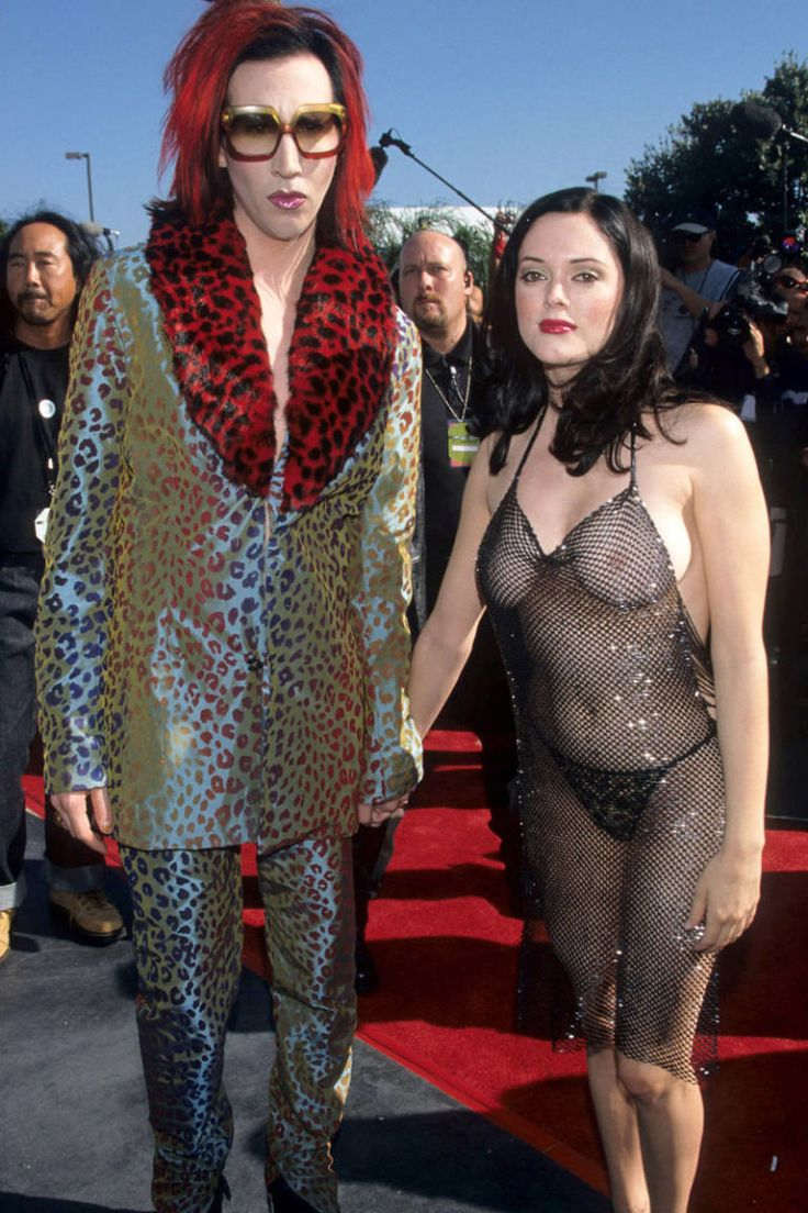 Rose McGowan's Front at the 1998 MTV Video Music Awards...