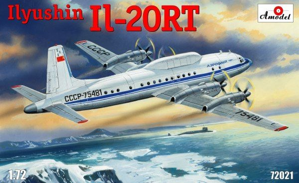 Ilyushin Il-20RT. A Model, 1/72, injection, No.AMU72021. Price: 71,32 GBP.