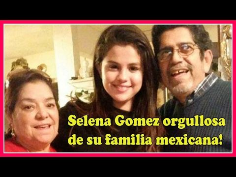 Conoce a la FAMILIA Mexicana de Selena Gómez! - YouTube