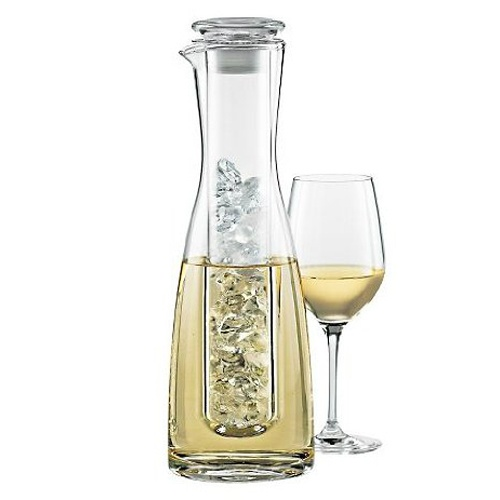 Chilling Wine Carafe: 2 Pieces, Wine Enthusiast, Gifts Ideas, Pieces Wine, White Wine, Chill Carafe, Wine Chill, Chill Chamber, Crystals Carafe