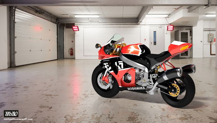 Motorcycle, 3D, Spain, Marbella