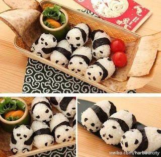 panda sushi-ish