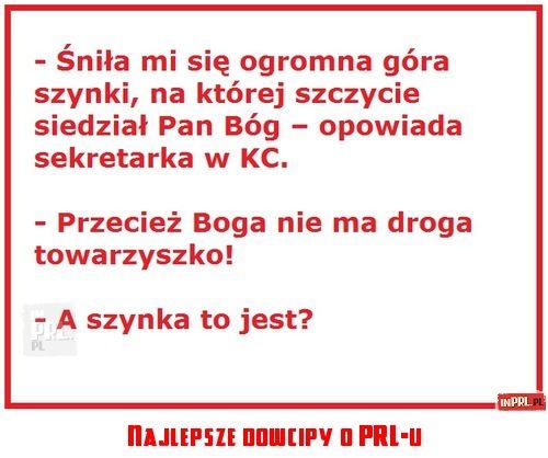 Najlepsze dowcipy o PRL-u