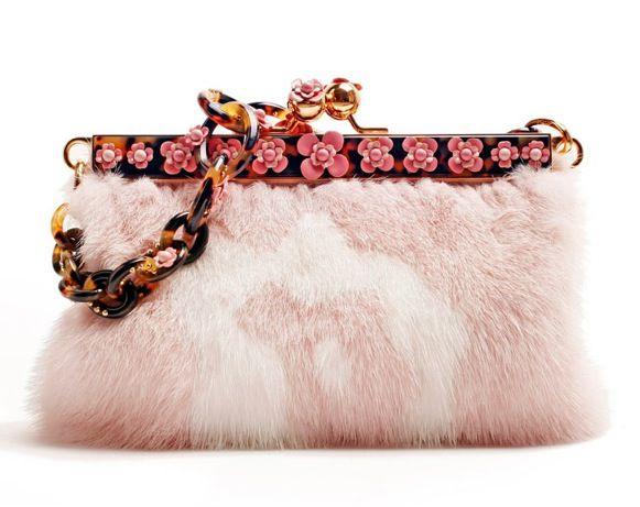 fur clutch | Handbags | Pinterest | Fur and Clutches