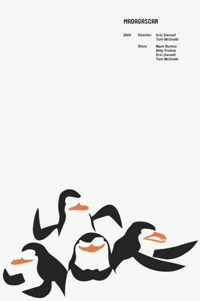 Minimalist movie posters are the greatest. But probably also the most challenging