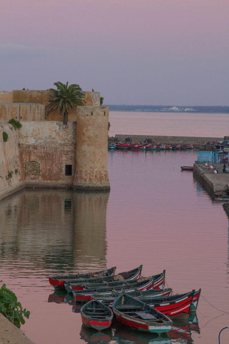 The Gorgeous City of E Jadida, Morocco - This amazing north African town has an amazing history.  Pictured here is part of the Portuguese fortress.  Have you been to Morocco?  Click here and find out all about this lesser known destination!  ~ReflectionsEnroute