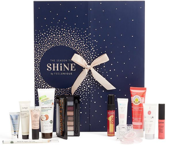 Feelunique The Season To Shine Beauty Advent Calendar 2017 Spoilers Contents Ships Worldwide Beauty Advent Calendar Beauty Advent Calendar 2017 Beauty Calendar