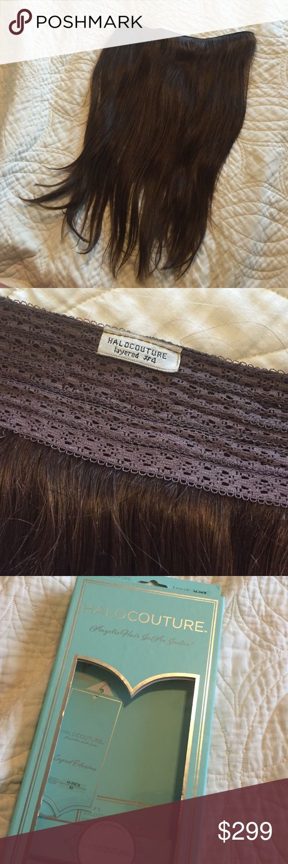 Halocouture layered Halo Hair Extensions