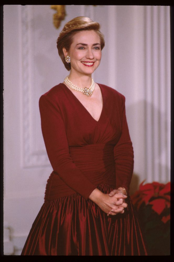 Hillary Clinton ~ February 1995 in Washington, D.C. (Getty Photo)