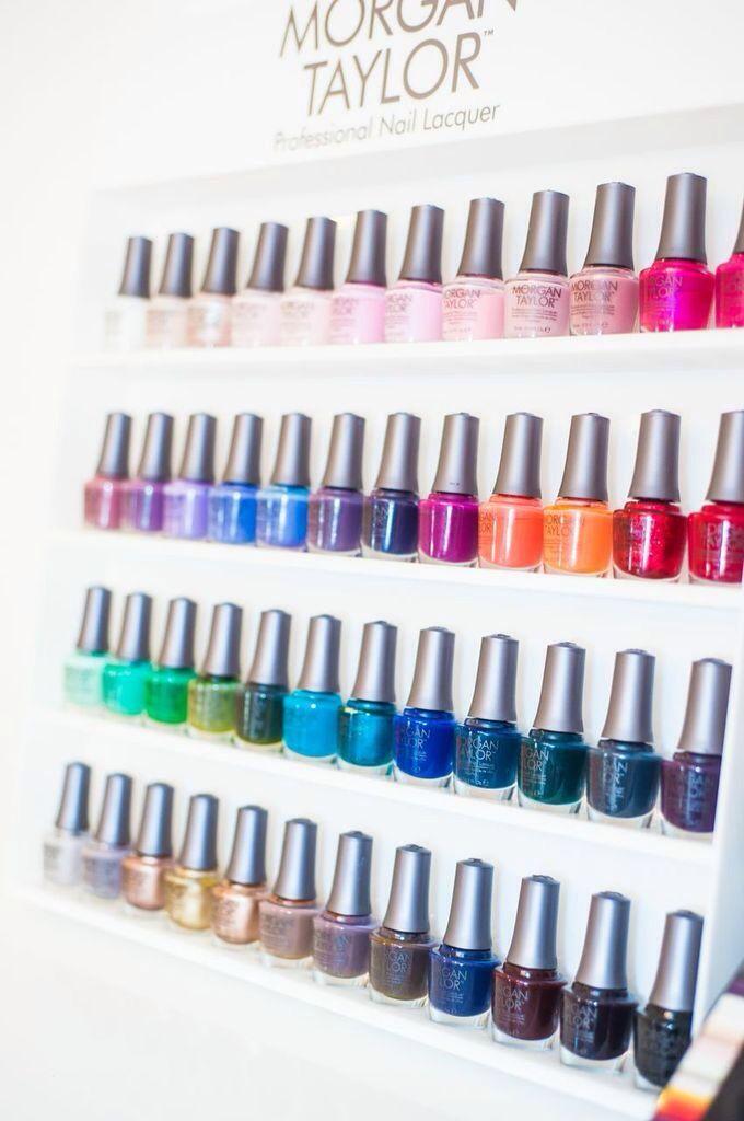 Morgan Taylor nail polish - my favorite brand