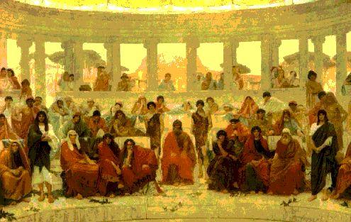En tan solo 400 años los griegos crearon un sistema político completo, basado en la democracia