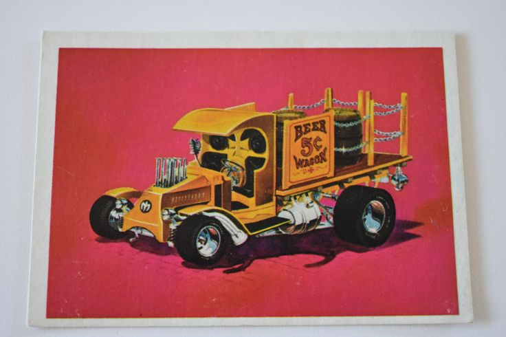 monogram model card  BEER WAGON 1970, Monogram Models, Monogram Model Cars | Collectibles, Non-Sport Trading Cards, Vintage Non-Sport Cards | eBay!