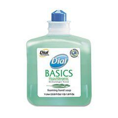 * Basics Foaming Hand Soap Refill, 1000 mL, Honeysuckle by MotivationUSA. $15.80. Hypoallergenic lotion soap is gentle on the skin. Dermatologist tested. Perfect for healthcare facilities, schools, offices, restaurants, daycare and more. Soap Type: Foam; Application: Hand; Capacity (Volume): 1000.000 mL; Capacity (Weight): N/A.