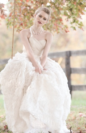 Sareh Nouri Bridal Gown available at Renee Strauss