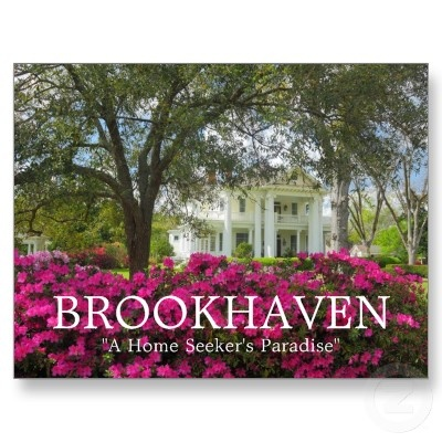 """A historic home on South Jackson Street in beautiful Brookhaven, Mississippi. Springtime awakens this small Mississippi town and Azaleas bloom to splendor. Brookhaven, """"A Home Seeker's Paradise""""."""