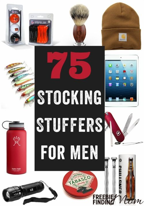 Need stocking stuffers for men ideas? Here you'll find 75 stocking stuffers for him that fit any budget, so you are guaranteed to find the perfect gift for any man in your life (boyfriend, husband, father, friend, son etc.).