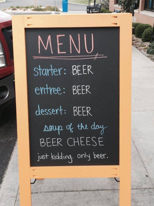 18 best beer menu images on Pinterest Beer, Brochure design and - beer menu