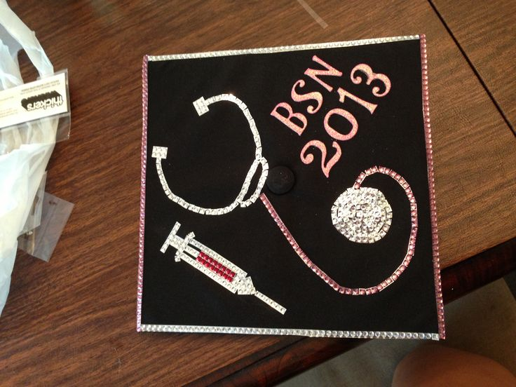 Nursing Graduation Cap- I don't like the bloody looking ...