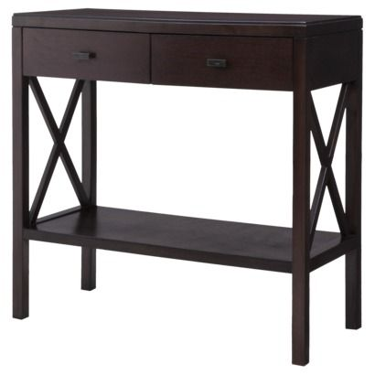 Threshold™ X Console Table at Target ... front entry table