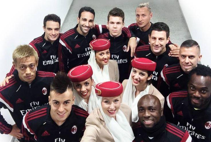 #ForzaMilan #FlyEmirates