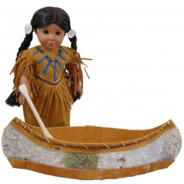 "Native American Heritage Canoe for 18"" Dolls American Girl Kaya"