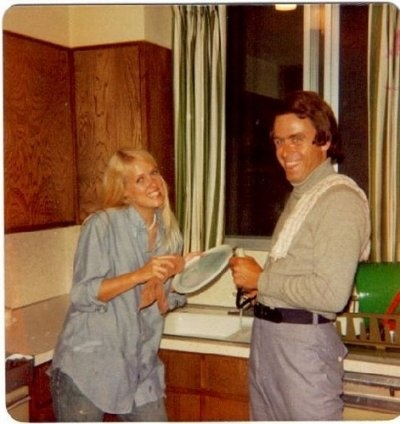 Serial Killer Ted Bundy In A Casual Setting With A Neighbor, Simply scary!