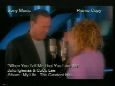 Coco Lee & Julio Iglesias - When You Tell Me That You Love Me