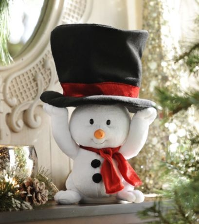 Singing Snowman #kirklands #seasonaldecor