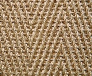 Herringbone looks lovely in the golden tones of Jute. Other jute designs available at www.kersaintcobb.co.uk - request FREE samples