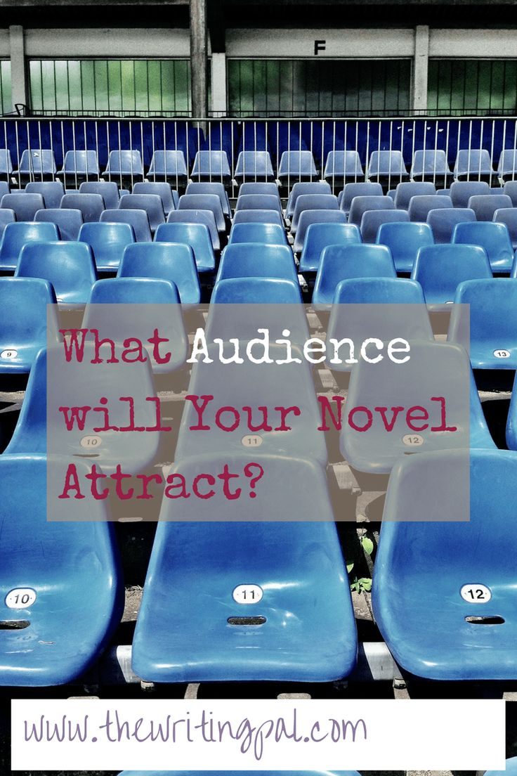 What Audience will Your Novel Attract? www.thewritingpal.com