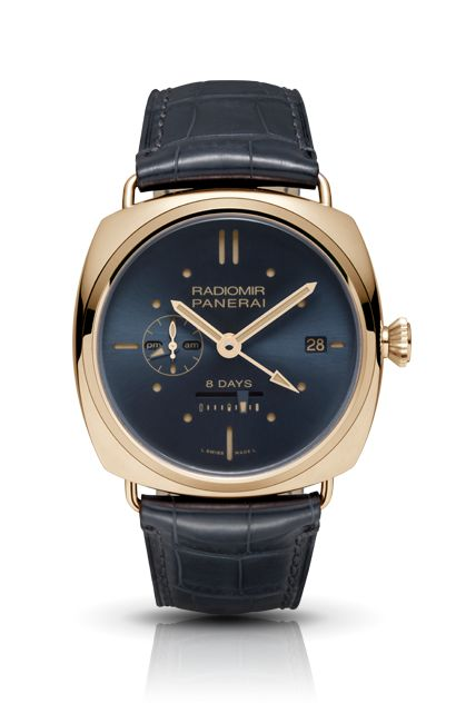 RADIOMIR 8 DAYS GMT ORO ROSSO PAM00538 - Collection 2013 - Watches Officine Panerai