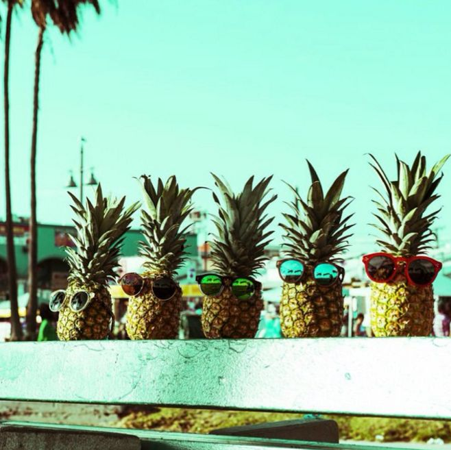 34 Best Images About Pineapples In Shades On Pinterest