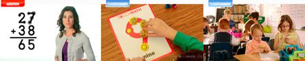 Build First Grade Math Success with TouchMath's Multisensory Programs.