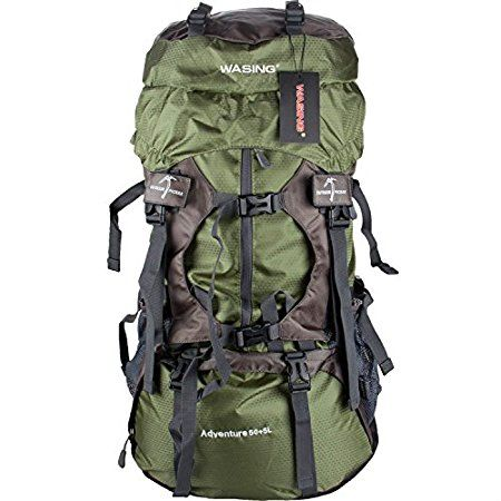 Wasing 55L Backpack – Ultra Lightweight & Incredible Price  Wasing 55L Backpack is an entry level ultra lightweight backpacking and hiking tool or a pack for occasional outdoor use and travel, with a price which is very hard to match. #Wasing55LBackpack, #Wasing55