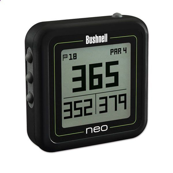 Golf Rangefinder - Choose the right club by knowing the distances with the Bushnell Neo Ghost GPS Rangefinder, a pocket sized, easy-to-use Golf GPS rangefinder. #ReadySetGoFitness #Bushnell #Golf #Rangefinder #GPS #AceGolfEquipment