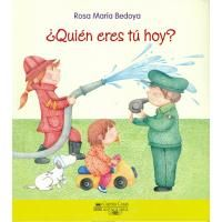 """""""¿Quién eres tú hoy?"""" de Rosa María Bedoya. ¿Qué hace un agricultor? ¿Y un médico? ¿Y un bombero? Descúbrelo en esta linda aventura. Lee las primeras páginas: http://goo.gl/Qv6QYD"""