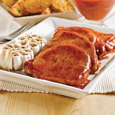 Côtelettes de porc à l'érable et à l'ail - Recettes - Cuisine et nutrition - Pratico Pratique