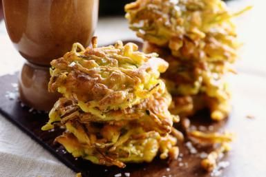 Yellow Summer Squash Patties - Alan Richardson/StockFood Creative/Getty Images