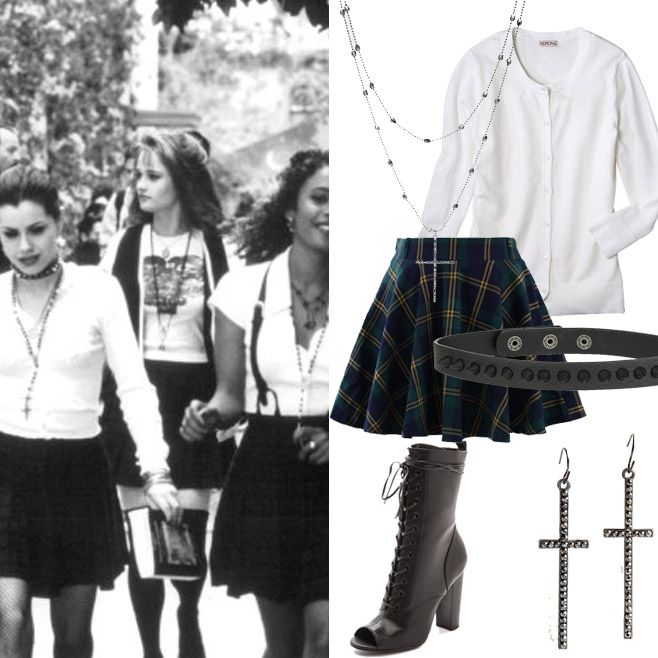 '80s and '90s Movies-Inspired Halloween Costumes - Bonnie from The Craft (1996) from #InStyle