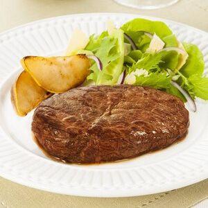 Coxão mole com salada de pera e molho de maionese por Academia da carne Friboi